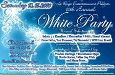 White Party - Saturday, December 18, 2010